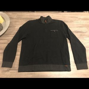 Ted Baker London 1/4 Zip Up Sweater